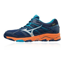 Mizuno Womens Wave Mujin 5 GORE-TEX Trail Running Shoes Trainers Sneakers Navy