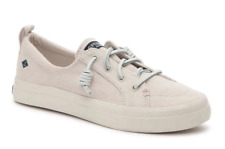 Sperry Top-Sider Womens Crest Vibe Flooded Ivory Slip-On Sneaker Shoes NIB
