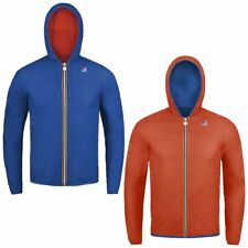 K-Way JACQUES PLUS DOUBLE giacca reverse KWAY BAMBINO Variable Meteo News 966efw