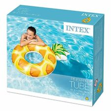 """Intex Inflatable Pineapple Tube Swim Ring 46"""" x 34"""" - CHEAP MULTIPLE PURCHASE"""