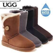 OZWEAR UGG OB013II WATER RESISTANTS CHESTNUT COLOR CLASSIC SHORT BUTTON UGG BOOT
