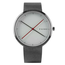 Casual KEVIN Round Dial Stainless Steel Band Women Men Quartz Wrist Watches
