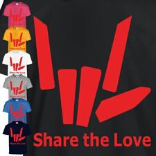 Share The Love Kids & Adult T-Shirt PS4 Xbox Pc Gamiing Children New Top T-Shirt