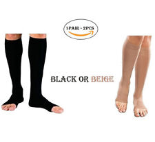 PEDIMEND Open-Toe Knee High Compression Socks Constructed With Soft Yarn (1PAIR)