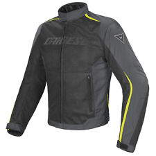 GIACCA DAINESE HYDRA FLUX D-DRY JACKET BLACK/DARK-GULL-GRAY/FLUO-YELLOW - P76