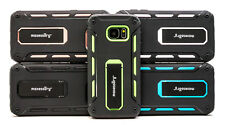 Heavy-Duty Kickstand Dual-Layer Armor Hybrid Cover for Samsung Galaxy S7 Case