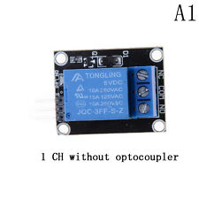5V 1/2/4/8 Kanal Relais Board Modul Optokoppler LED für Arduino PiC ARM AVRPPTY