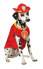 Rubies Marshall Paw Patrol Fancy Dress Costume Outfit Dog Pet Animal S To XL