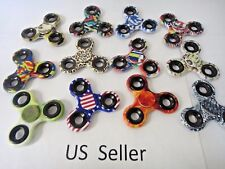 Wholesale Lot 10x Fidget Hand Tri Spinner Camouflage Camo Color Finger Toy style