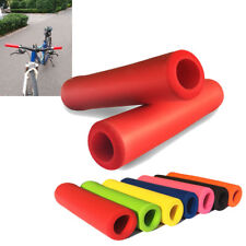 1Pair Bike Silicone Anti-slip Mountain MTB Bicycle Handlebar Grips For Cycling