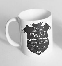 Lord T**t Printed Cup Ceramic Novelty Mug Funny Gift Coffee Tea