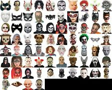 Halloween Mask, Fancy Dress, Costume, Party, Theatre, Show, Horror, Fright, Lot