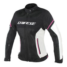 GIACCA DAINESE AIR FRAME D1 LADY TEX JACKET BLACK/VAPOROUS-GRAY/FUXIA - 2735196