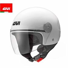 GIVI H107BB910 CASCO DEMI-JET 10.7 MINI-J BLANCO BRILLANTE MOTO SCOOTER
