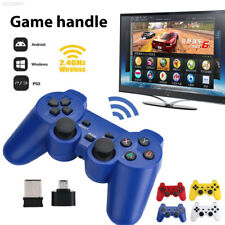 E87F Wireless Dual Joystick Game Controller Gamepad For PlayStation3 PC TV Box