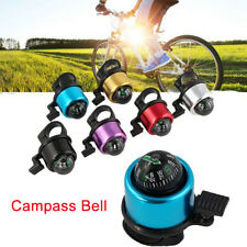 Cycling Bicycle MTB BMX Loud Speaker Bike Bell Ring Alarm And Compass Handlebar