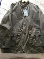 barbour lutz wax jacket size large,new with tags on,free uk delivery..