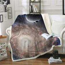 Bedding Outlet Durable Blanket Print Plush Top Throw Beds Sofa Cover Thin Quilt