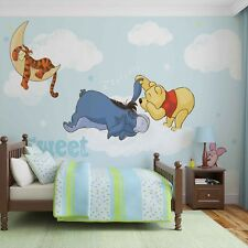 Papier Peint Photo pour Chambre Disney Winnie L'Ourson Piglet Tigrou Eeyore