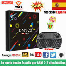 ES H96 Pro Android 7.1 TV Box 2GB/16GB Quad Core S905X HDR10 4K Player+Keyboard
