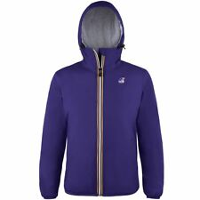 K-WAY LE VRAI 3.0 CLAUDETTE ORSETTO giacca imbottita DONNA KWAY VioLEt New B44xr