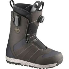 Salomon Bottes de Snowboard - Launch Boa STR8JKT Gris 2018 -