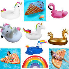 Giant Inflatable Toys Water Float Mats Summer Sea Swim Pool Lounger Beach New Uk