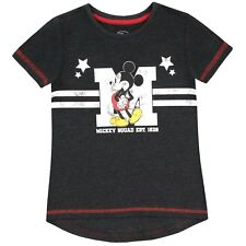 Girls Mickey Mouse T-Shirt | Disney Mickey Mouse Tee | Mickey Mouse T Shirt