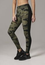 Urban Classics Ladies Camo Stripe Leggings in wood von XS-XL