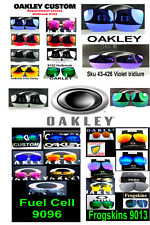 Replacement Lenses  Oakley Frogskins Holbrook Fuel Cell 9013 9102 9096