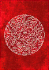 Poster / Toile / Tableau verre acrylique LABYRINTH - THE USUAL DESIGNERS