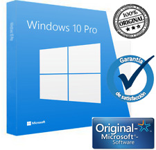 Windows 10 Pro 32/64 Bits Clave Licencia KEY 100% Genuina-Para 1,2, o 5 usuarios