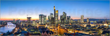 Poster, stampa su tela o vetro acrilico Skyline panorama from Fr... - J. Becke
