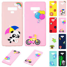 Slim Cute Painted Shockproof Soft TPU Back Cover Case for Samsung Galaxy S9/Plus
