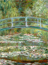 Póster, lienzo o cuadro en metacrilato the japanese bridge - Claude Monet