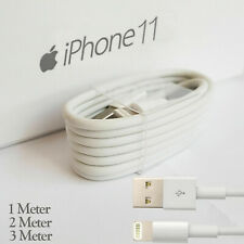 1M 2M 3M GENUINE iPhone 5 5S 6 7 8 X Plus Lighting Data Sync Charging Cable Lead