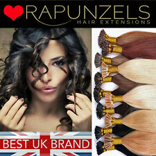 """16"""" micro ring stick i tip pre bonded hair extensions 1g or 0.5g double drawn"""