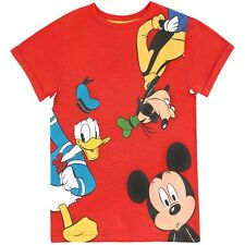 Mickey Mouse T-Shirt | Boys Mickey Mouse Tee | Mickey Mouse Daffy Duck Goofy