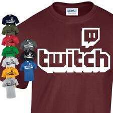 TWITCH Logo Kids & Adults Tee Sports Fans Unisex Casual Gaming Dress T-shirt