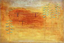 Póster, lienzo o cuadro en metacrilato Place of the appointment - Paul Klee