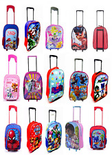 CHILDREN'S DISNEY& AND CHARACTER WHEELED TROLLEY BAG SUITCASES - Kids