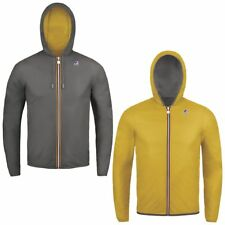 K-WAY JACQUES PLUS DOUBLE giacca reverse CORTA UOMO meteo Idrorep. KWAY new 990c