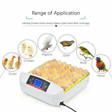 32 Eggs Chicken Duck Bird Poultry Hatcher LED Incubator Fully Automatic Turning