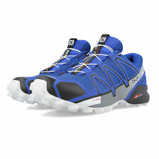 Salomon Mens Speedcross 4 Trail Running Shoes Trainers Sneakers Navy Blue Sports