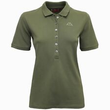 ROBE DI KAPPA CRISTY POLO DONNA mc.corta 6BOTTONI Verde Lichene New 885juhuorepk