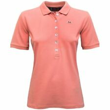ROBE DI KAPPA POLO DONNA mc.corta CRISTY 6bottoni Pink Extase New Nuovo T37bgsvn