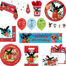 Bing Party Supplies BRAND NEW - tableware, balloons, banner etc - Free P&P