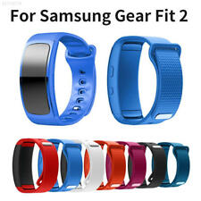 99B7 36A2 Silicone Replacement Watch Band Strap For Samsung Gear Fit 2 SM-R360