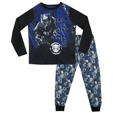 Black Panther Pajamas I Boys Marvel PJs I Kids Marvel Black Panther Pyjamas
