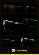 8750c61807 New Ridgemonkey Ridge Monkey Pola Flex Polarised Sunglasses - All Colours